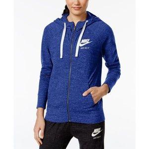 (NWT) Nike | Comet Blue Gym Vintage Hoodie
